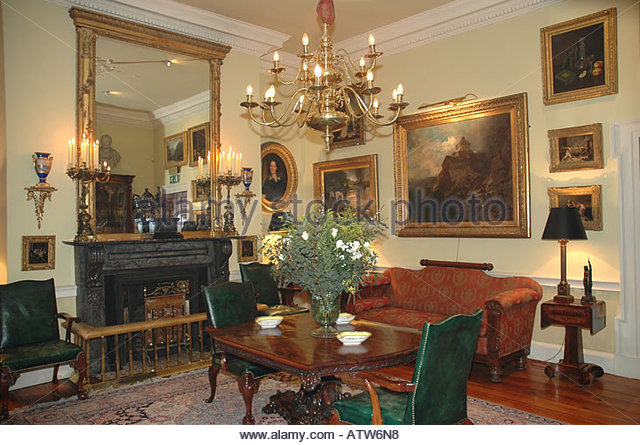 Interior of Georgian House - Stock Image