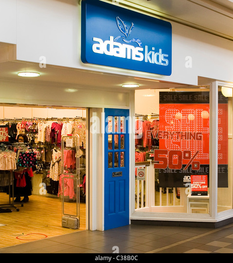 Adams clothing store locator