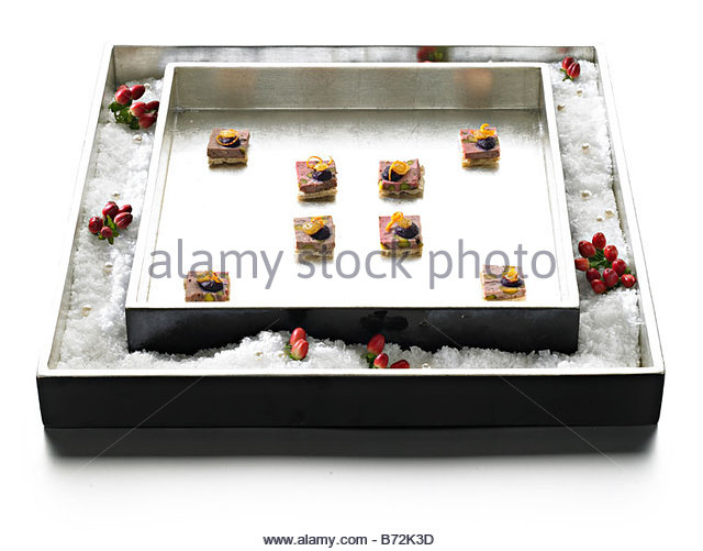 Game terrine stock photos game terrine stock images alamy for Wooden canape trays