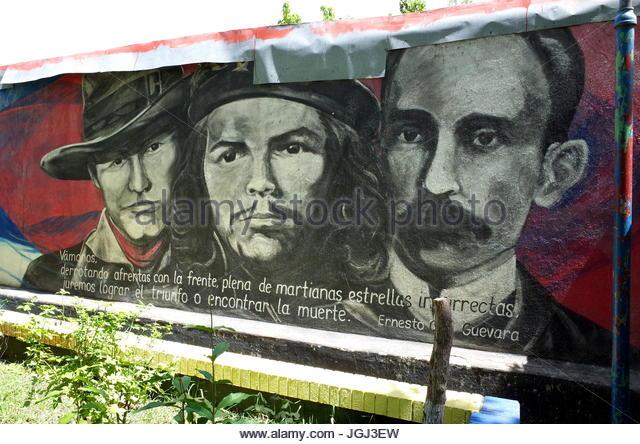Civil war mural stock photos civil war mural stock for Mural nicaraguense