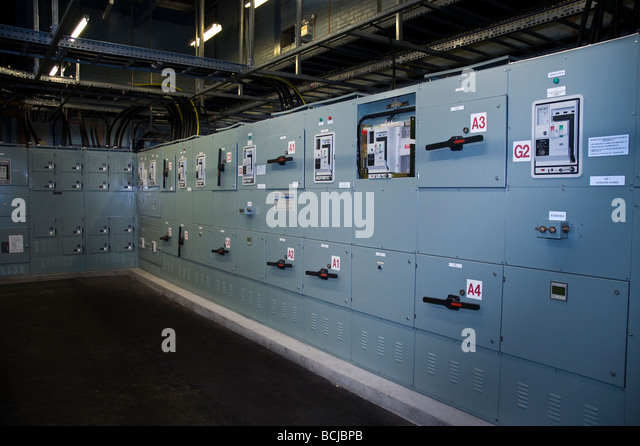 Electrical Control Room Stock Photos & Electrical Control Room ...