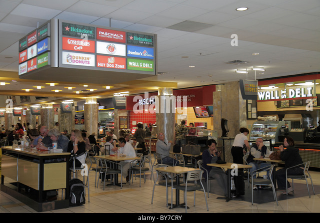 Hartsfield Jackson Airport Food Court