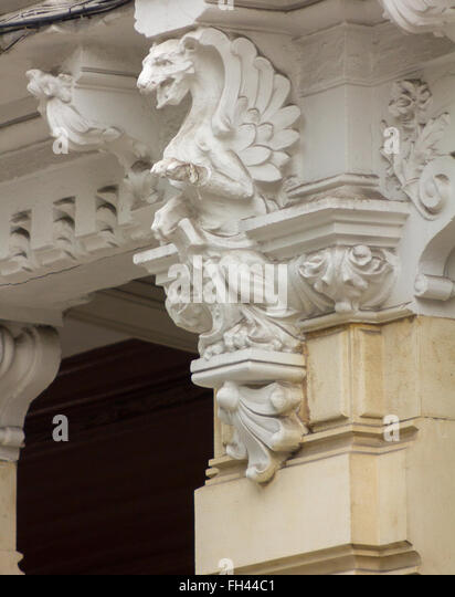 Historic building details stock photos