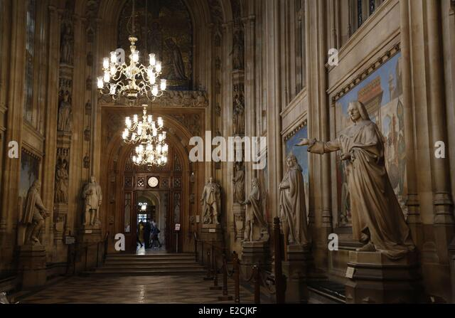 United Kingdom, London, Westminster, House Of Parliaments, Commons Parliament  Interior   Stock Part 26