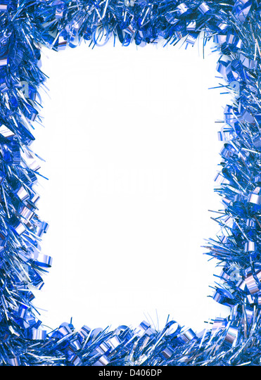 Christmas Border Blue Stock Photos & Christmas Border Blue Stock ...