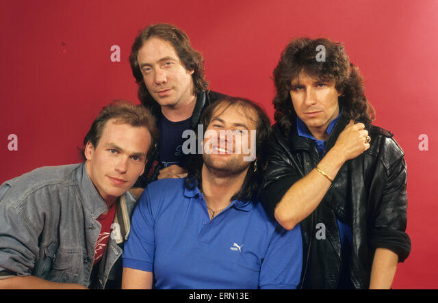 Promo Photos 1981-1988 - Marillion Setlists Site 1980-1988