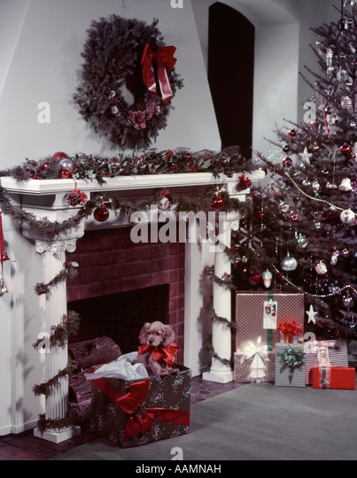 1950s Christmas Stock Photos & 1950s Christmas Stock Images - Alamy