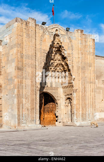 Simple Main Portal Seljuk Sultan Han Caravanserai Sultanhani Kervansaray