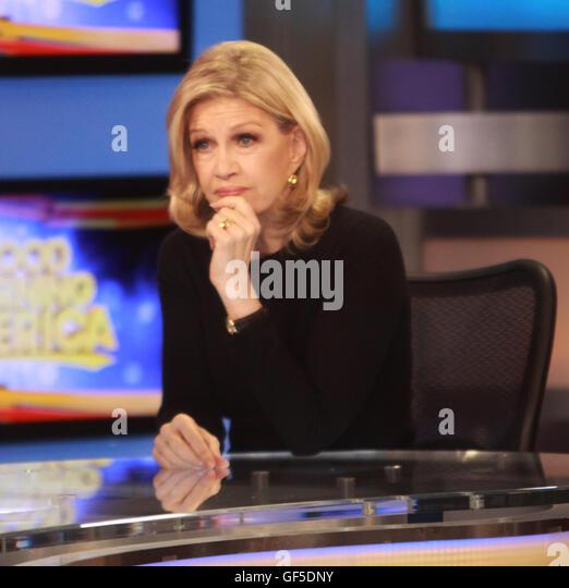 Good Morning America Diane Sawyer : Diane sawyer stock photos images alamy