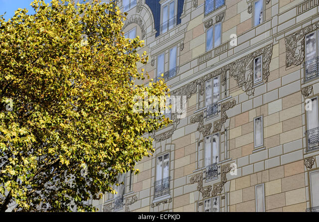 Covering decorating scaffolding renovation hotel stock photos covering - Renovation hotel lutetia ...