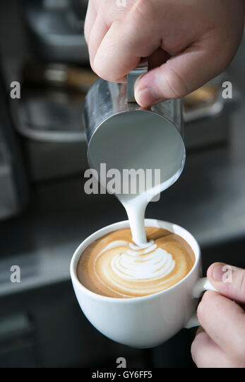 how to make coffee as a barista