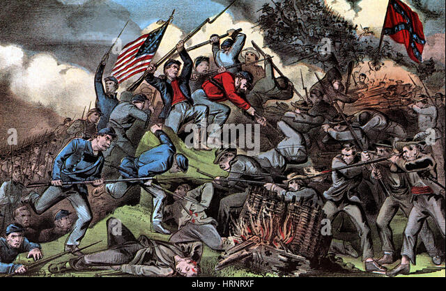 Battle Of Chattanooga 1863 Stock Photos & Battle Of Chattanooga ...
