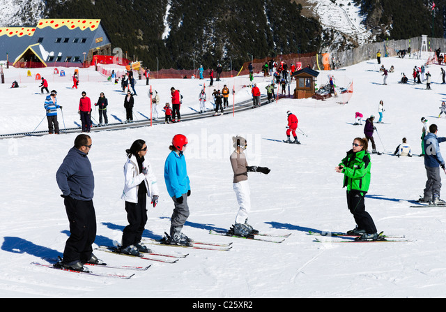 Great place to learn to ski - Review of Vallnord Pal ...