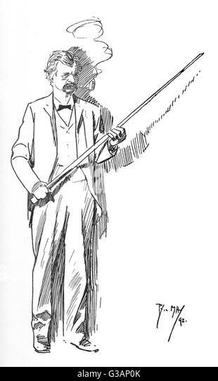 american author and humorist mark twain samuel langhorne clemens 1835 1910