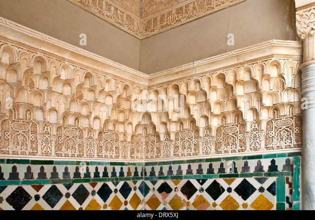 Islamic decoration stock photos islamic decoration stock for Alhambra decoration