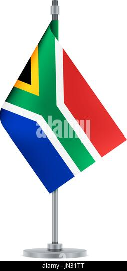 South African Flag Stock Vector Images  Alamy