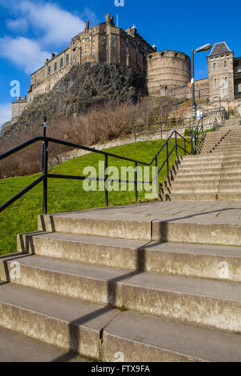 Castle terrace edinburgh stock photos castle terrace for 55 buckstone terrace edinburgh