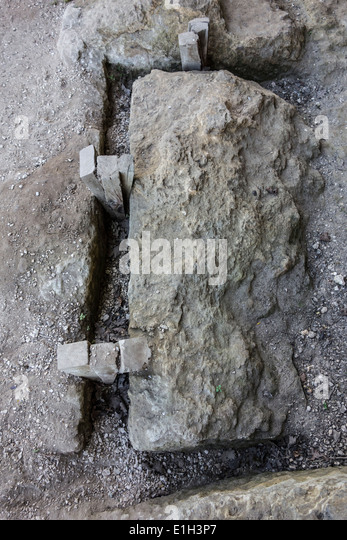Seven Blocks Of Granite : Extraction stock photos images alamy