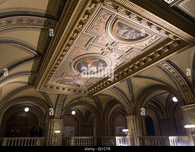 Foyer Ceiling Queen : Foyer stock photos images alamy