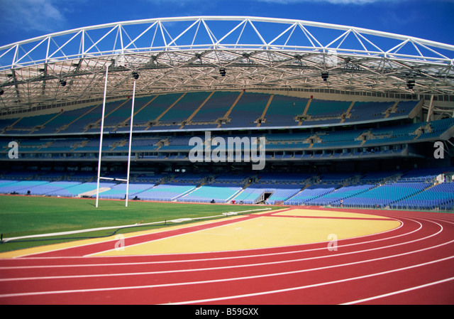 The Interior Of Main Olympic Stadium At Homebush Sydney NSW Australia D Harcourt Webster