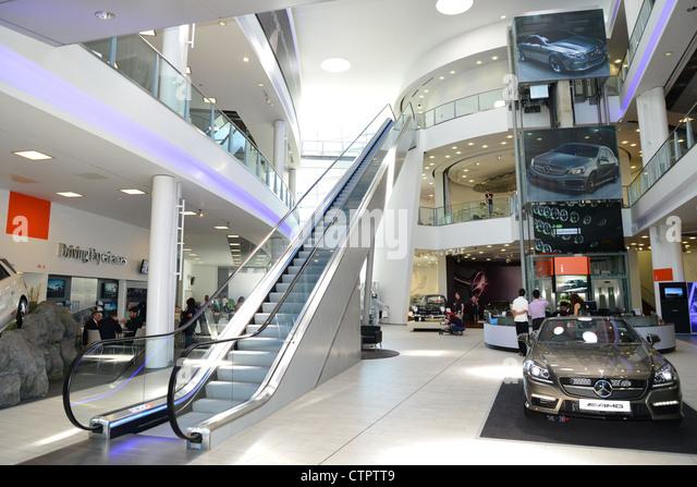 Mercedes benz world brooklands stock photos mercedes for Mercedes benz worldwide