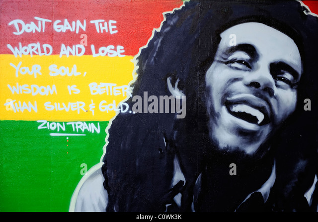 Marley me stock photos marley me stock images alamy for Bob marley mural san francisco