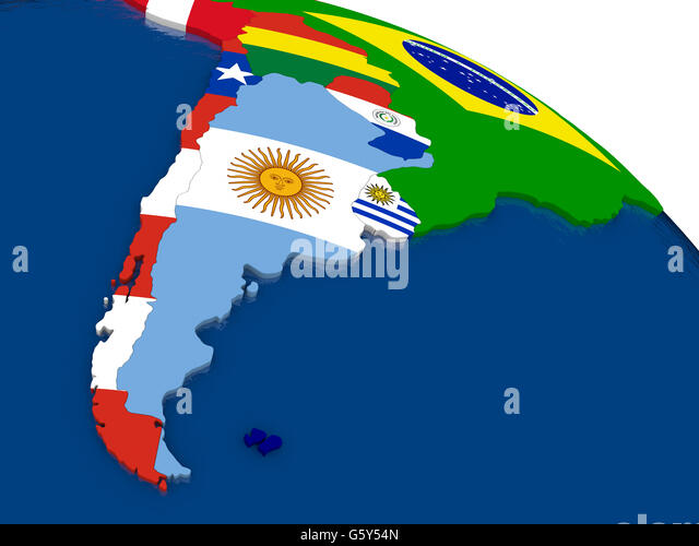 Argentina Country Map Colors Flag Stock Photos Argentina Country - Argentina 3d map