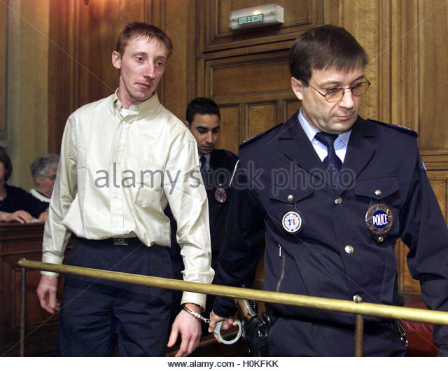 Frenchman Patrick Dils appears during his third trial in Lyon, April ...