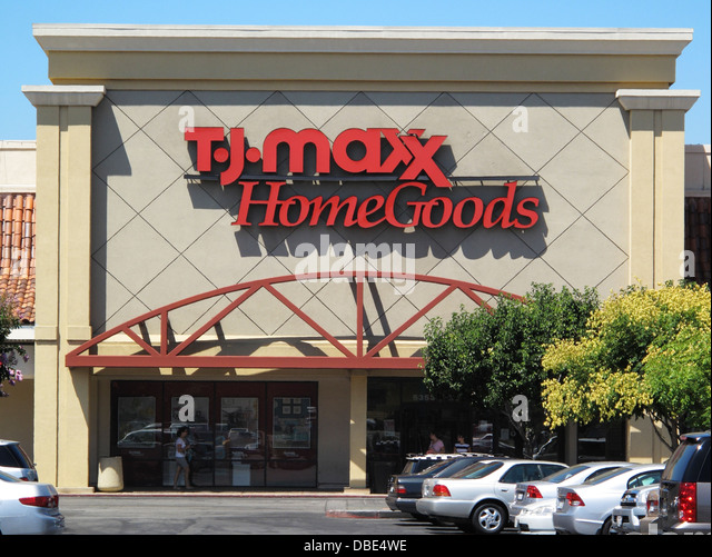 TJ Maxx Home Goods department store in San Jose  California   Stock Image. Tj Maxx Stock Photos   Tj Maxx Stock Images   Alamy