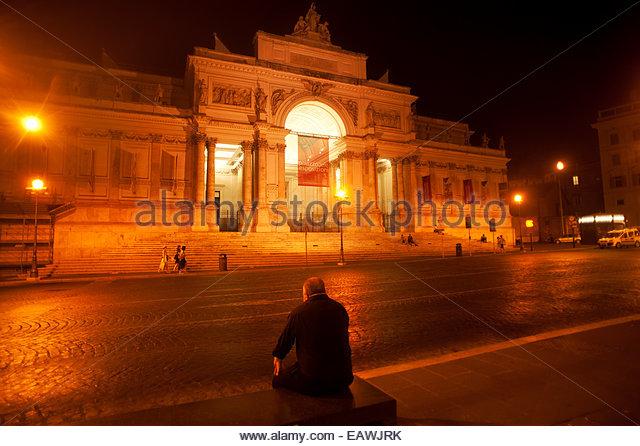 Via nazionale street scene rome stock photos via for Palazzo delle esposizioni via nazionale roma