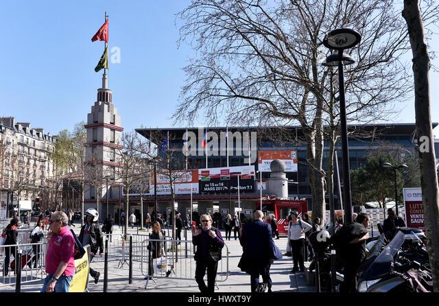 Porte de versailles stock photos porte de versailles stock images alamy - Palais des expositions porte de versailles ...