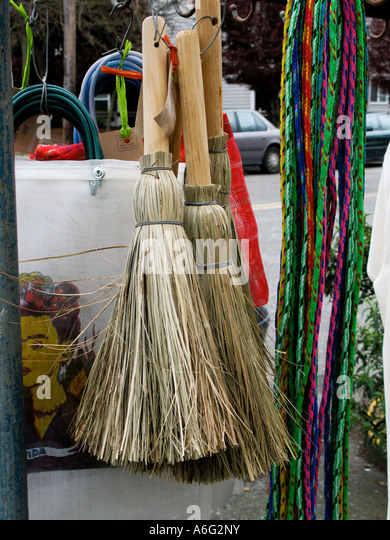 Household Decorative Items For Sale Outside Shop Stock Image