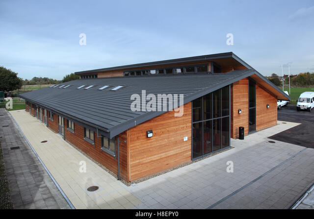 Modern Classroom Blocks : Monopitch stock photos images alamy