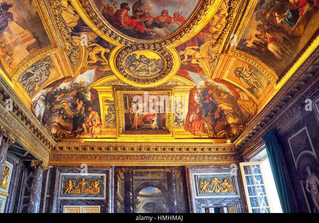 Versailles baroque detail stock photos versailles for Salon versailles 2016