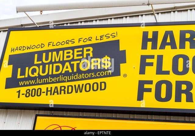 A Sign For The Lumber Liquidators Store In Modesto California   Stock Image