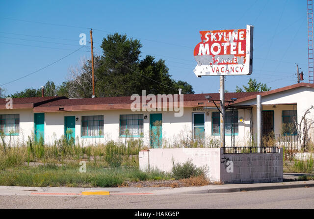 1950s retro motel stock photos 1950s retro motel stock for Motel one wellness