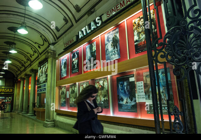Excellent Atlas Passage Istiklal Street Istanbul Stock Image With Atlas Kche