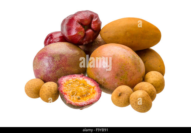 sapodilla fruit dragon eye fruit