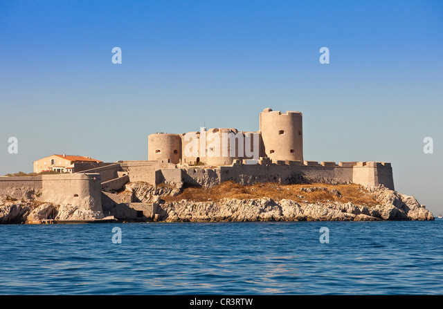 Chateau d 39 if stock photos chateau d 39 if stock images alamy for Marseille bouche du rhone