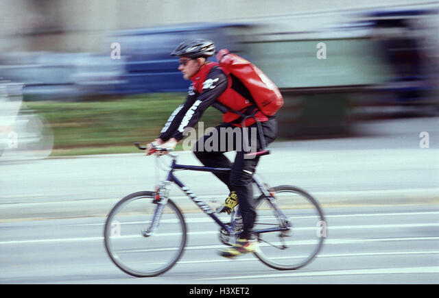 Bike Courier Stock Photos Bike Courier Stock Images Alamy