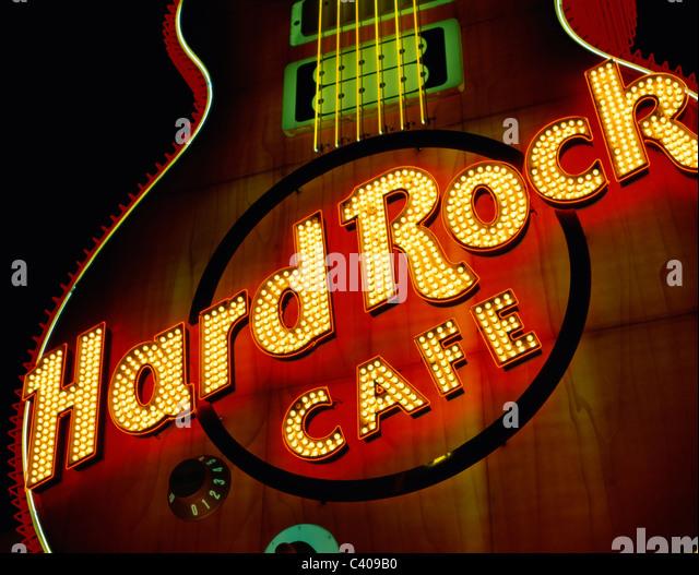 Hard Rock Cafe Memphis Guitar