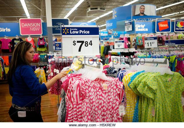 Walmart employee clothing store