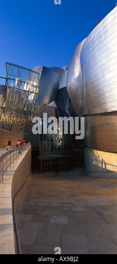 Guggenheim Bilbao Museum by Architect Frank Gehry, Bilbao, Province of  Biscay, Basque Country