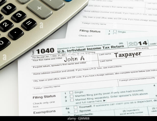 1040 tax form stock photos 1040 tax form stock images for 1040 tax table calculator