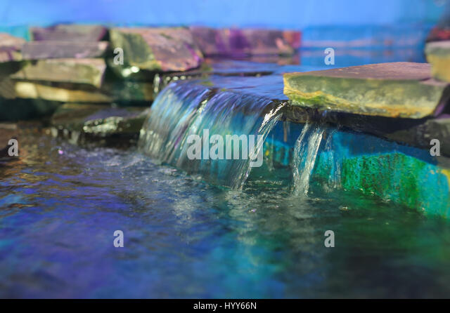 Waterfall ornamental pond stock photos waterfall for Ornamental pond fish port allen
