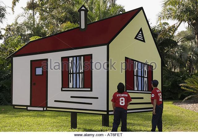 Roy Lichtenstein Art House Ii Stock Photos & Roy Lichtenstein Art ...