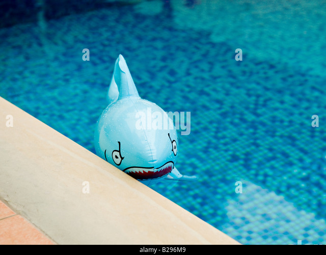 Inflatable Shark Pool Toy