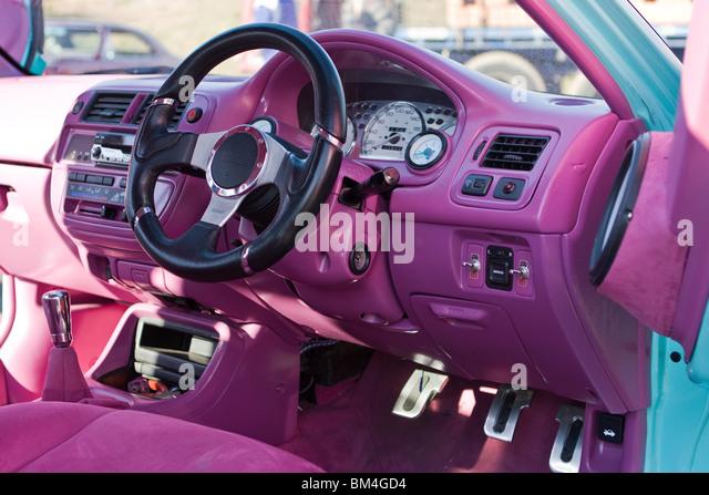 custom car interior stock photos custom car interior stock images alamy. Black Bedroom Furniture Sets. Home Design Ideas