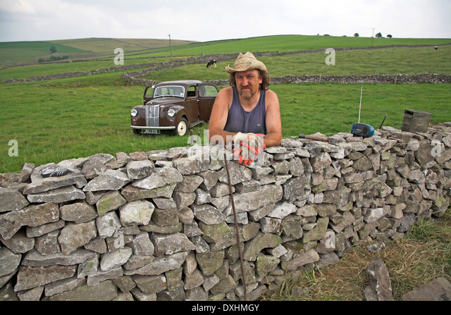 Dry Stone Walls Work Stock Photos & Dry Stone Walls Work Stock ...