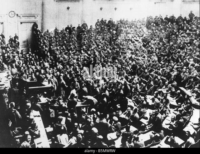 The february 1917 revolution